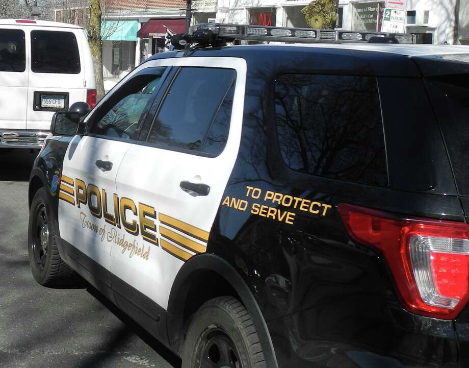 Ridgefield Police cars will outfitted with dashboard cameras, and officers will be required to wear body cameras by July 2022, but town officials may move to do it sooner than mandated by the state. Photo: Macklin Reid / Hearst Connecticut Media