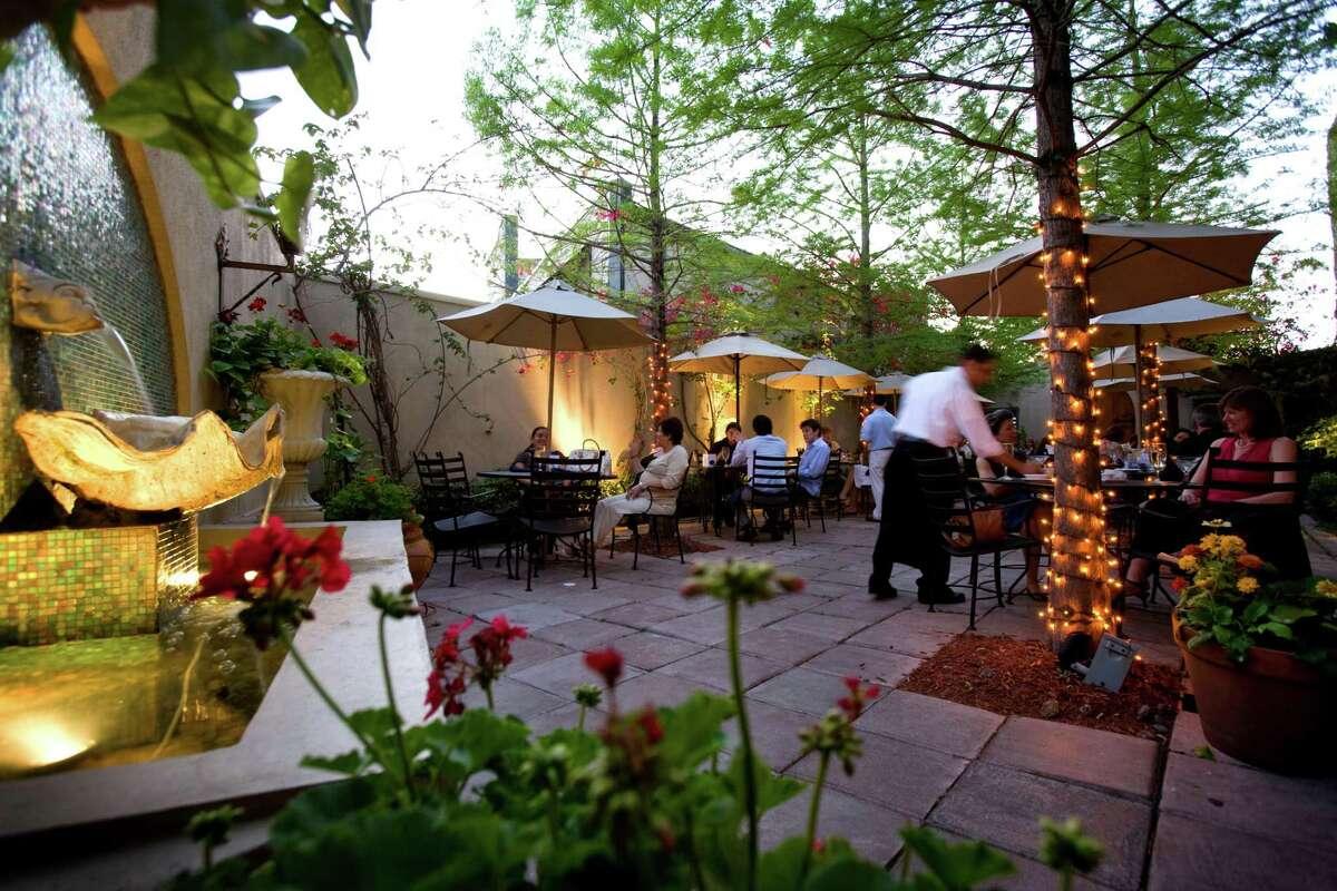 H Town Restaurant Group: Hugo's, 1600 Westheimer; Caracol, 2200 Post Oak; Xochi, 2200 Post Oak; Prego, 2520 Amherst; Backstreet Cafe, 1103 S. Shepherd;Third Coast, 6550 Bertner (co-owned with Prego executive chef/owner John Watt).
