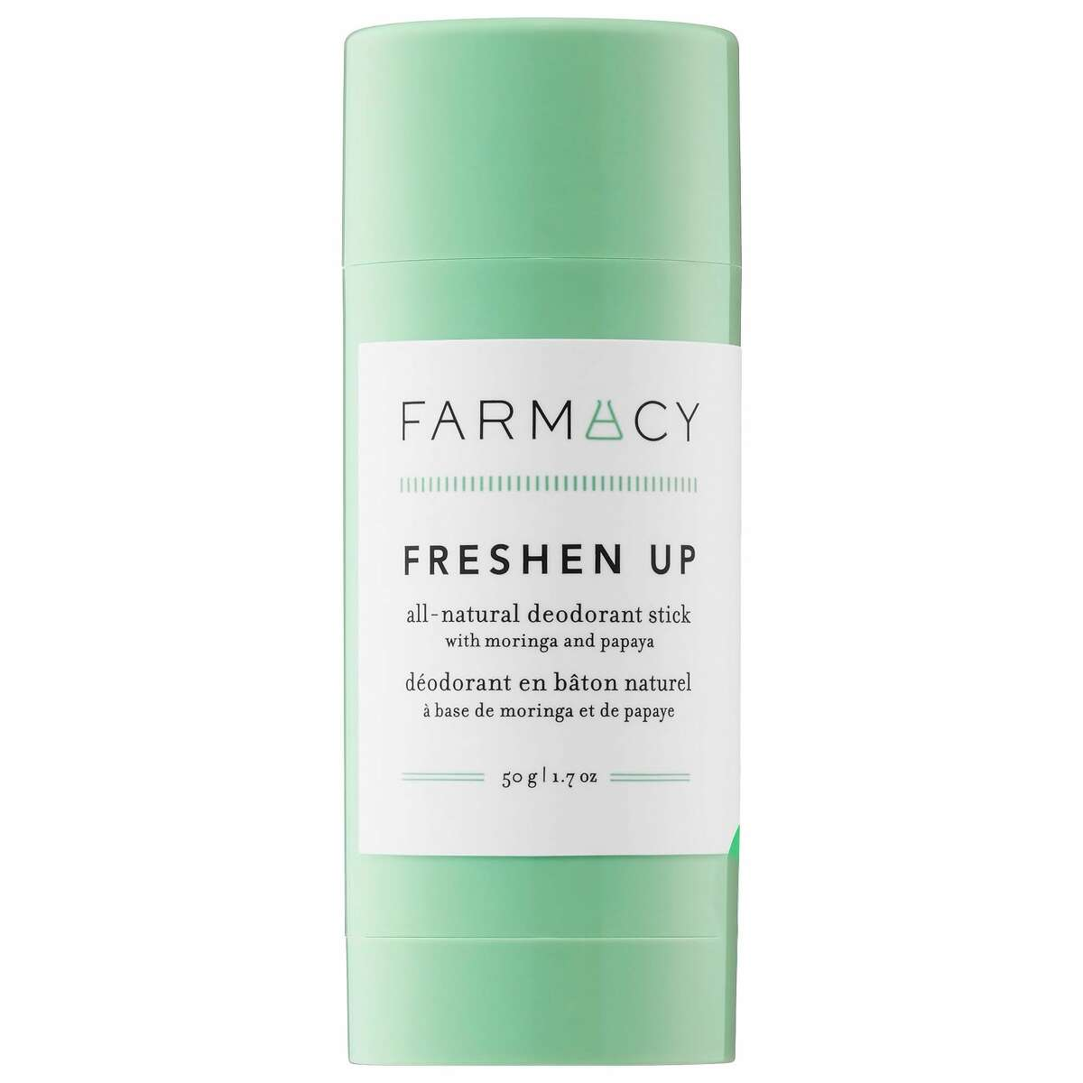 1) Farmacy Freshen Up All-Natural Deodorant: $15.00 Shop Now Irritation from things like shaving or using a deodorant that's too harsh can cause hyperpigmentation under your armpits, leaving you with those classic dark shadows. But this natural deodorant contains papaya extract, which helps gently brighten the skin under your arms over time.