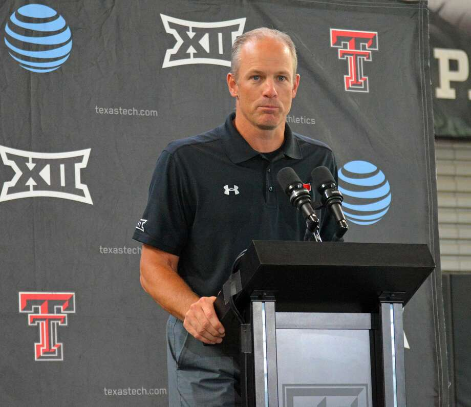 Head coach Matt Wells and the Texas Tech football team are ready to finally get the season started on Saturday by hosting HBU. Photo: Nathan Giese/Planview Herald