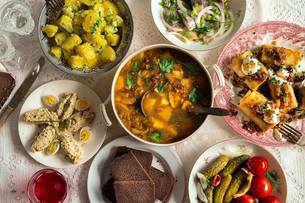 Food from Anna Voloshyna, a cook, blogger and cooking teacher who specializes in the cuisines she defines as Slavic and Central-Asian; those of Russia, Ukraine, Georgia and Armenia.