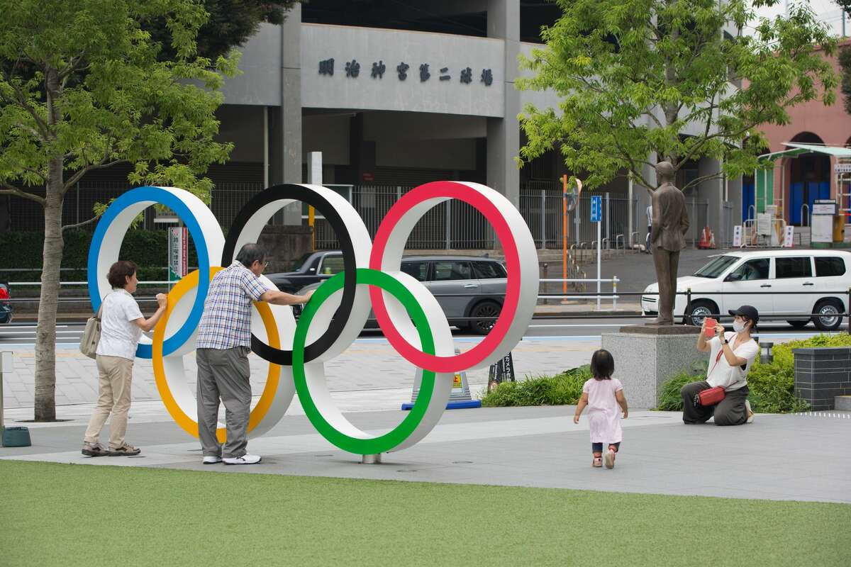 Despite the ongoing coronavirus pandemic, Tokyo has decided to move forward with the summer 2021 Olympic games. (Photo by Stanislav Kogiku/SOPA Images/LightRocket via Getty Images)