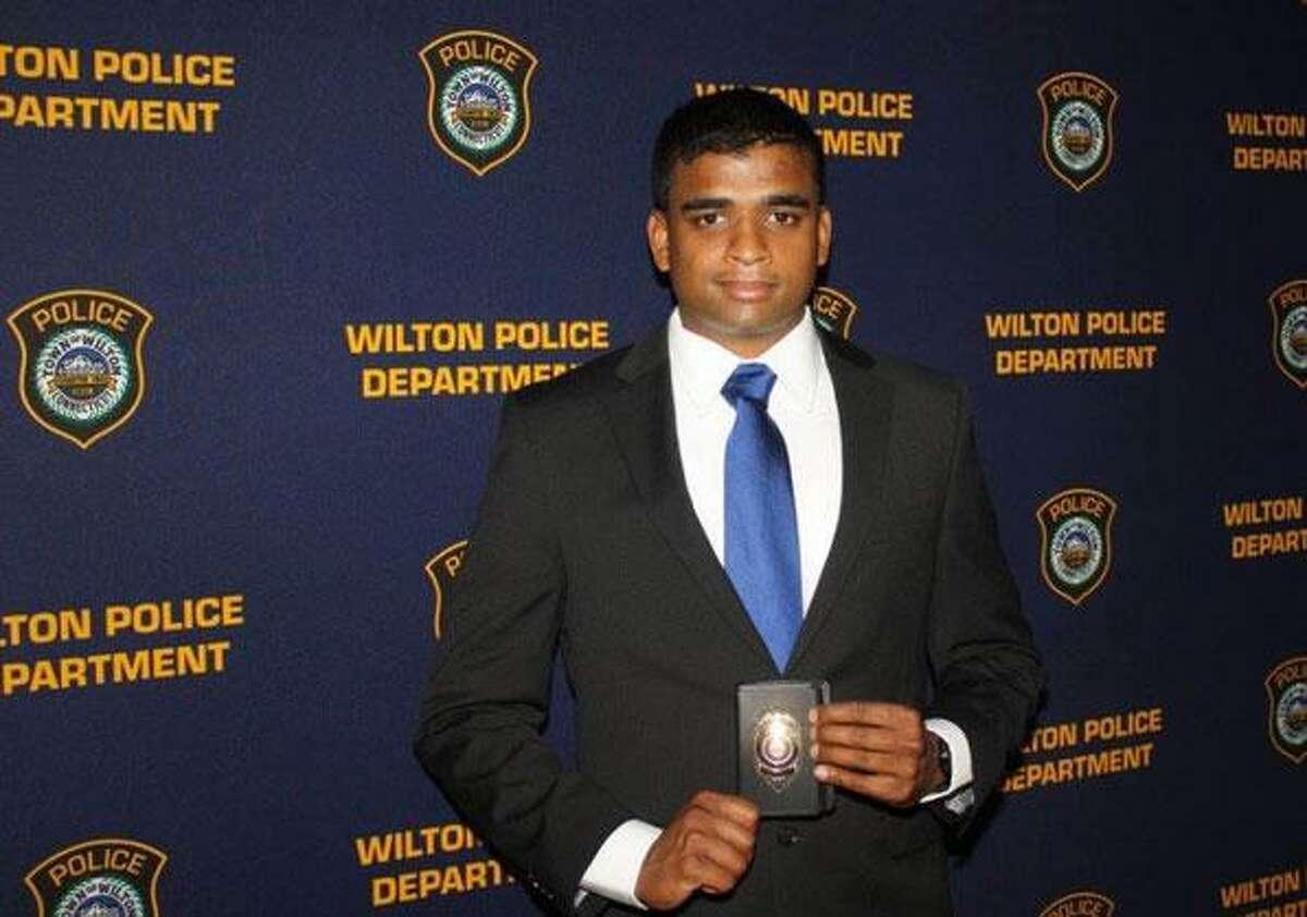 Wilton Police Officer Navin Nair