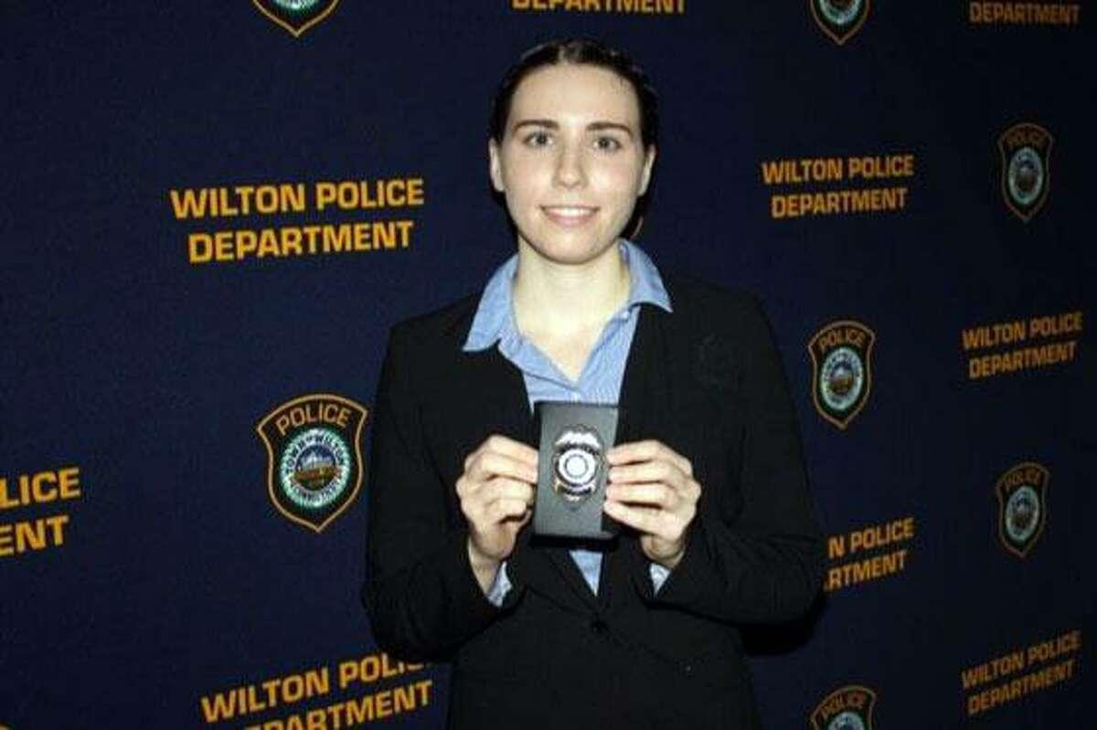 Wilton Police Officer Elizabeth Myles