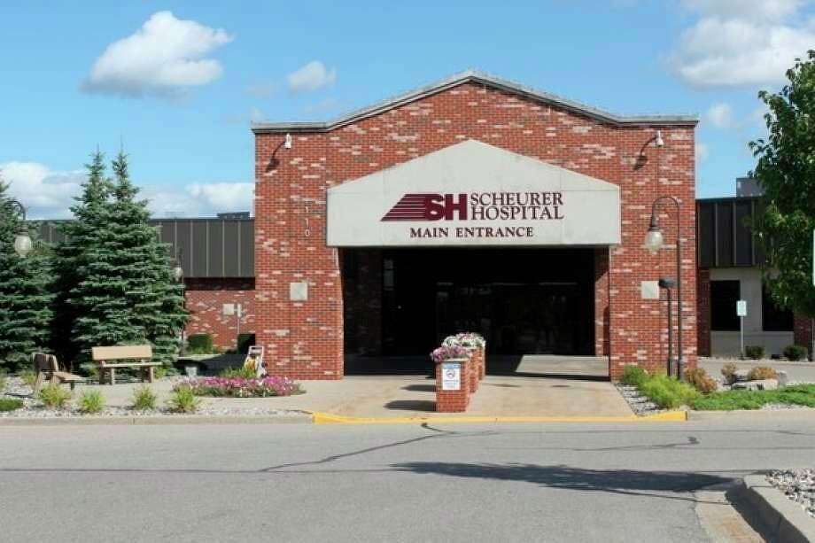 Scheurer Hospital in Pigeon, which has plenty of stockpiles of PPE supplies. The state has announced a new grant program to help healthcare providers cover PPE costs. (Tribune File Photo)
