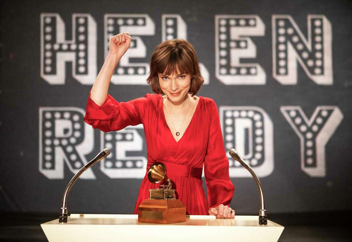 Tilda Cobham-Hervey stars as singer Helen Reddy in the biopic