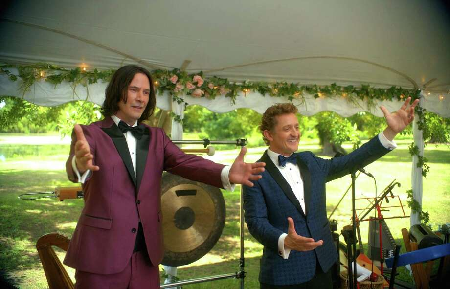 "Keanu Reeves and Alex Winter in the film ""Bill & Ted Face The Music."" Photo: Patti Perret /Orion Pictures / TNS / TNS"