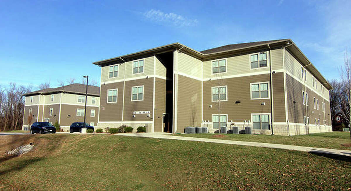 Seven COVID-19 positive test results have been recorded at the Trailblazer Commons apartments adjacent to Lewis and Clark Community College in Godfrey. Many of the apartment residents are LCCC student-athletes.