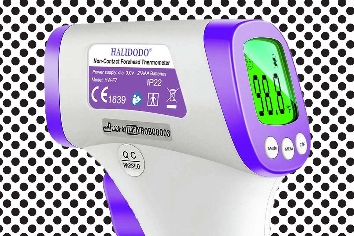 HALIDODO infrared thermometer for sale on Amazon.
