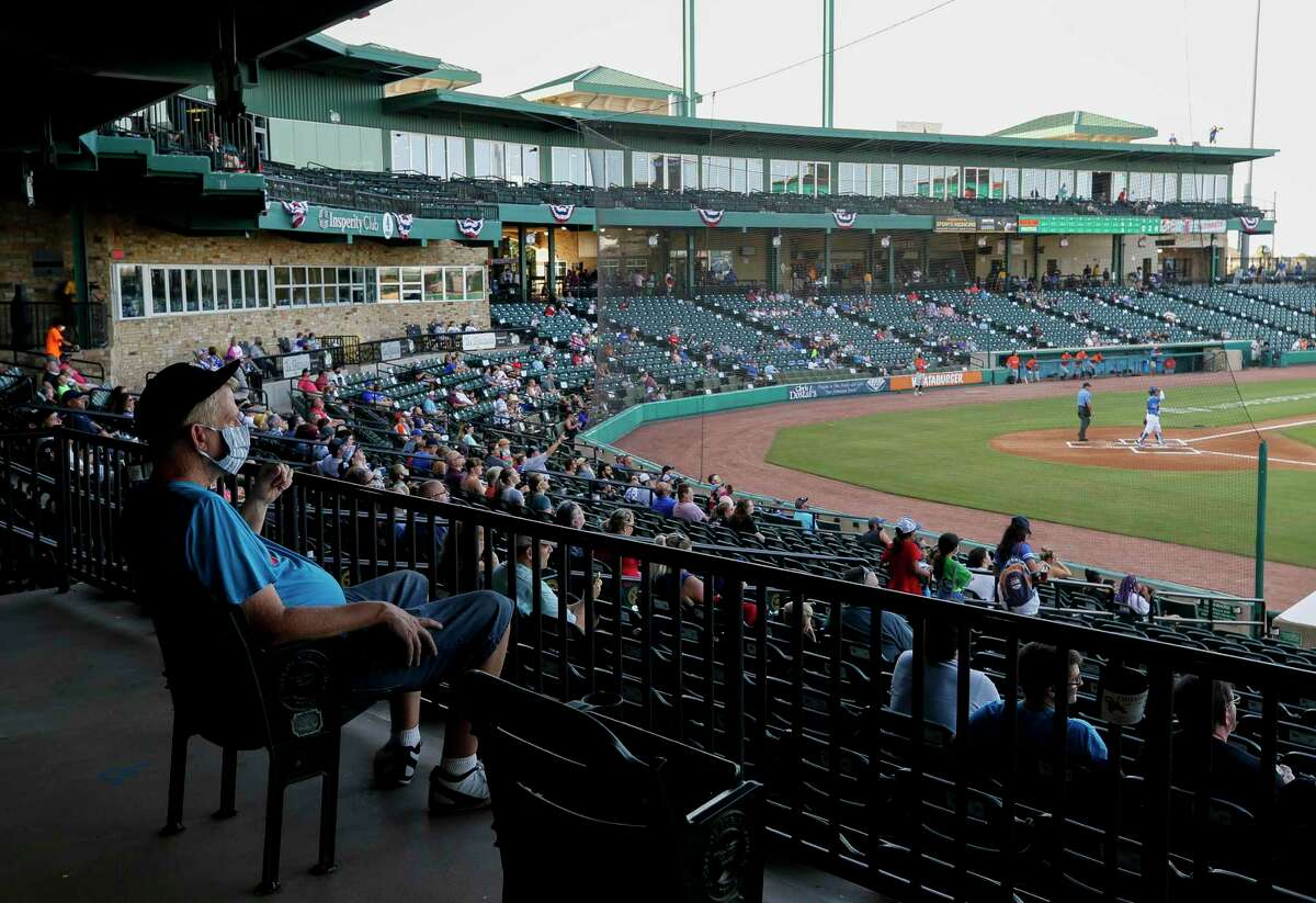 Opening day in 2020, masks and all, for the Skeeters.