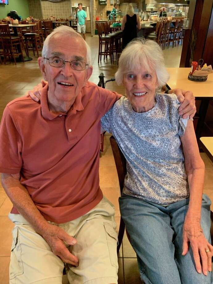 From a blind date, to a break-up, to 65 years of marriage, Big Rapids residents Elmer and Marilyn Lokers will be celebrating their anniversary Wednesday, Sept. 9. (Courtesy photo)