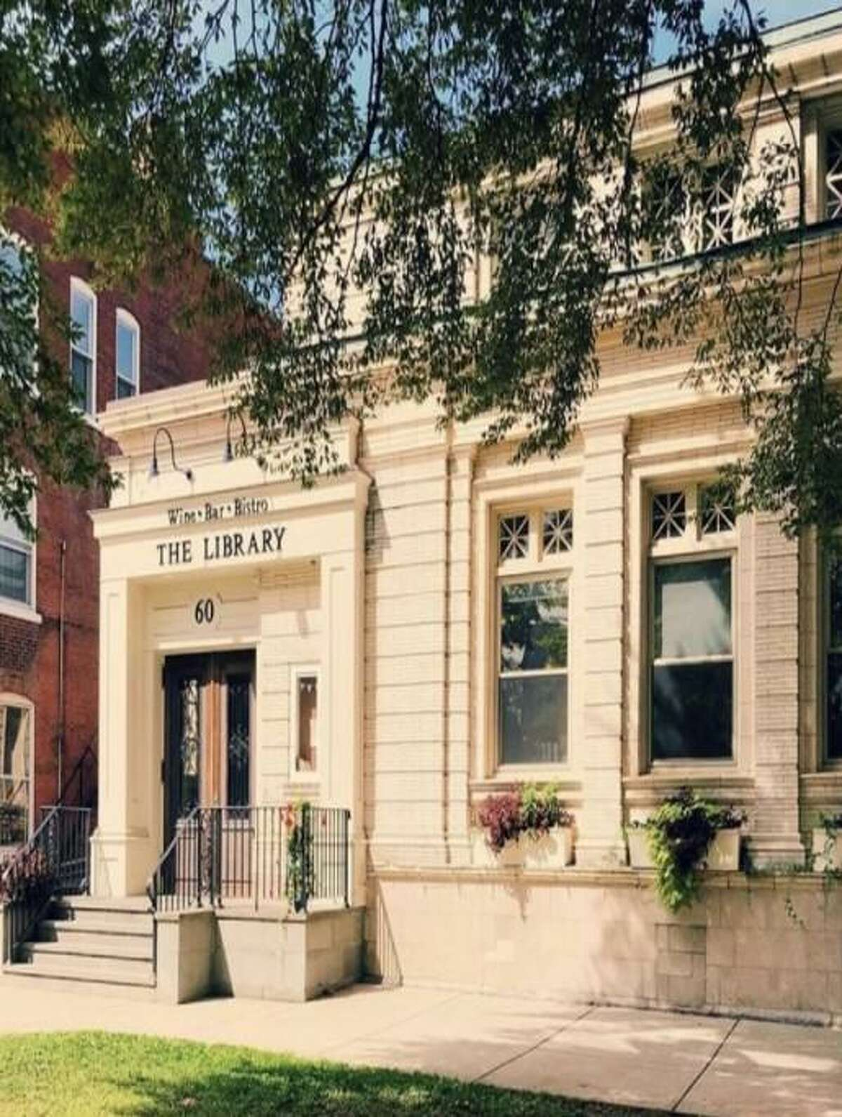 The Library Wine Bar and Bistro in Wallingford