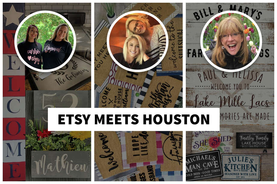 Meet the Houston women behind three of our favorite local home decor shops on Etsy. Photo: Heather Stickell, Chief Designer, Hearst