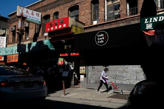 Businesses closed along Grant Avenue in Chinatown on Tuesday, Aug. 25, 2020, in San Francisco, Calif.