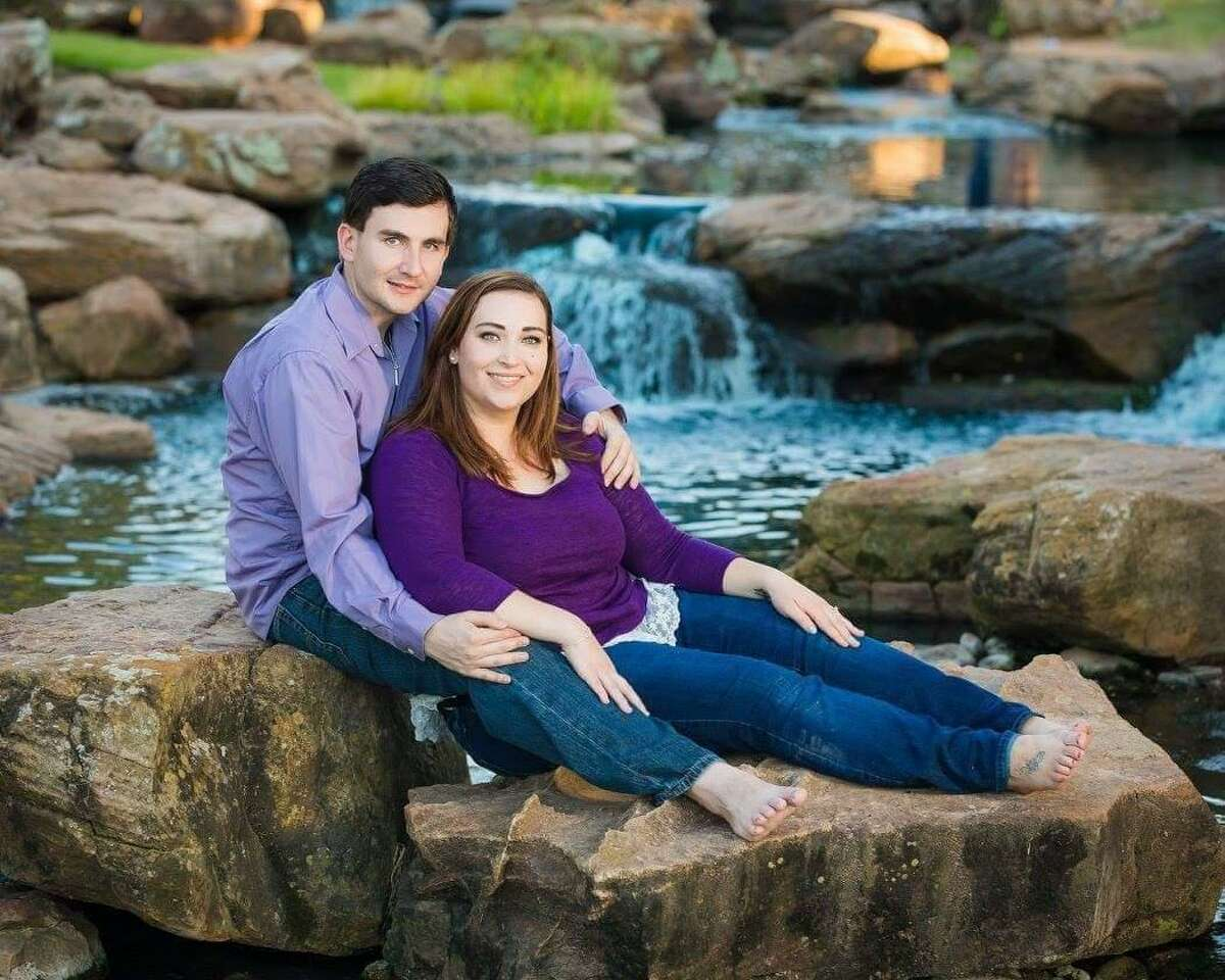 Tyler Tydlacka, shown here with his wife, Sarah Lynn, was diagnosed with Stage 3 colon cancer at the age of 24.