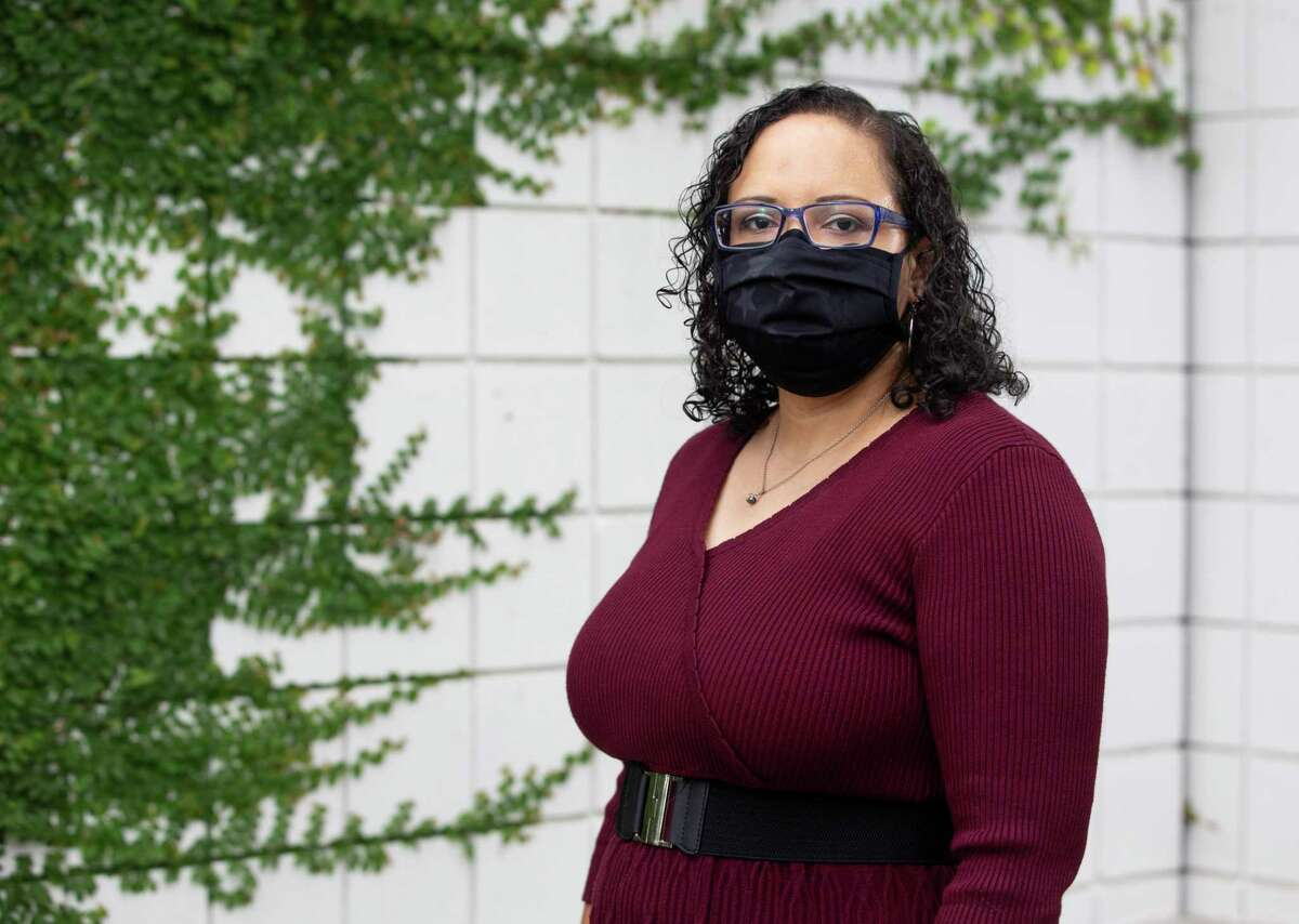 Kara Kai Kirton, Manager of Ancillary Social Services at Legacy Community Health, poses for a photograph Friday, Sept. 4, 2020, in Houston. September is Suicide Prevention Month.
