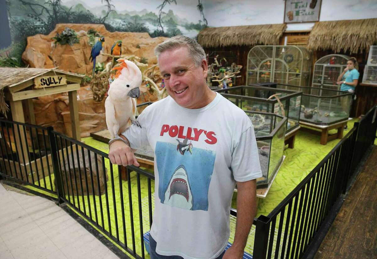Steve Housley is owner of Polly's Pet Shop, which has been operating in Universal City since 1977.
