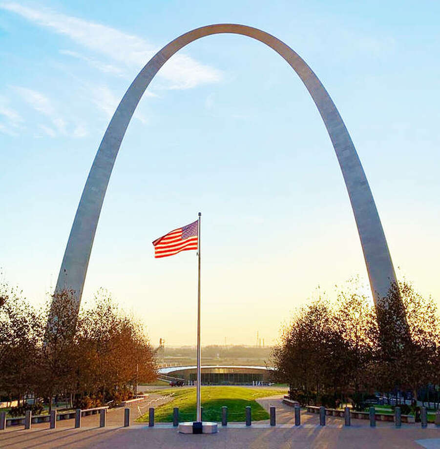"The Gateway Arch National Park's Arch, also known as the ""Gateway to the West."" Gateway Arch National Park began Phase II this month of reopening the park, highlighted by limited access, with reservations, to ""The Tram Ride to the Top"" of the symbolic monument. Photo: Courtesy Of Gateway Arch National Park
