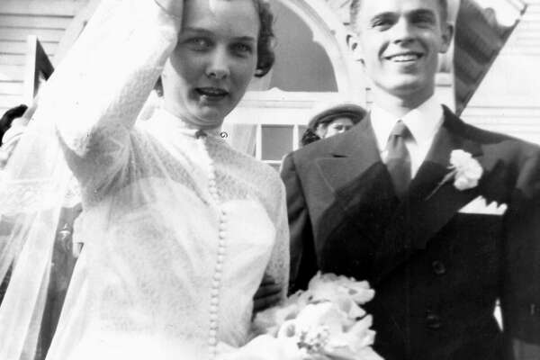 The couple in 1950.