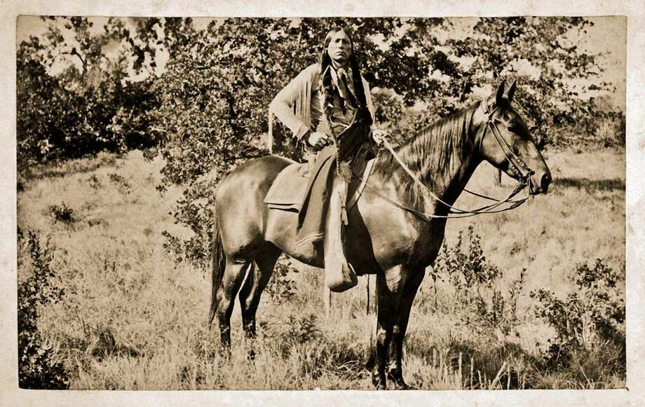 Quanah Parker, Fort Sill, 1897. E. R. Kellogg Collection, National Anthropological Archives, Smithsonian Institution Photo: E. R. Kellogg Collection, National Anthropological Archives, Smithsonian Institution