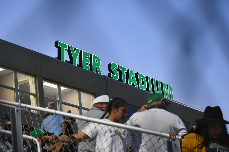 Floydada honored the late Charles Tyer with a stadium dedication at Friday's Homecoming football game. Photo: Nathan Giese/Plainview Herald