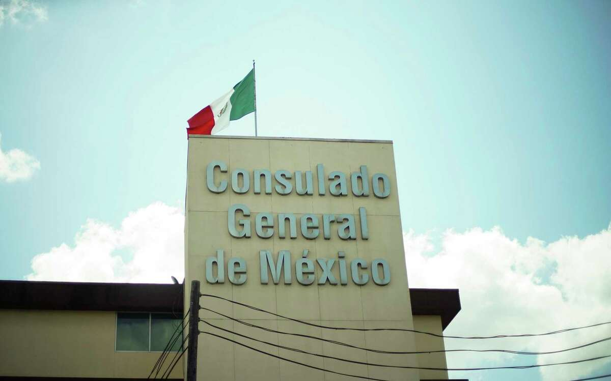 The Consulate General of Mexico in Houston on Friday, Aug. 14, 2020.