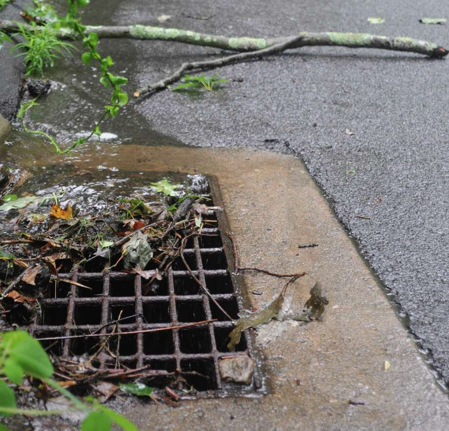 The handling of storm runoff from development projects n Ridgefield will be governed by a new set of regulations approved by the Planning and Zoning Commission. Photo: Macklin Reid