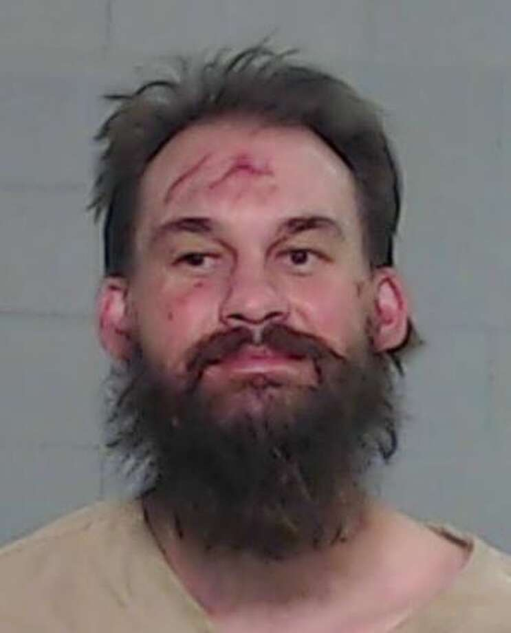 Odessa Police arrested Matthew Aaron Barnett, 34, for three counts of aggravated assault with a deadly weapon, attempt to take a weapon from a peace officer, resisting search or transport and driving while intoxicated. Photo: Odessa Police Department