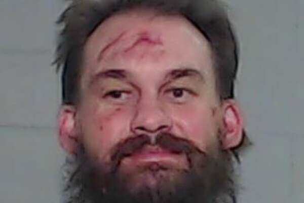 Odessa Police arrested Matthew Aaron Barnett, 34, for three counts of aggravated assault with a deadly weapon, attempt to take a weapon from a peace officer, resisting search or transport and driving while intoxicated.