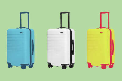 Away is having its first-ever sale on its bags and accessories, including the ever popular The Carry-On.