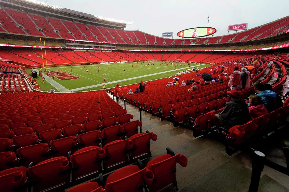 The Chiefs recently allowed 5,000 fans to watch a scrimmage and for Thursday's opener against the Texans will allow 22 percent of normal capacity (approximately 17,000).