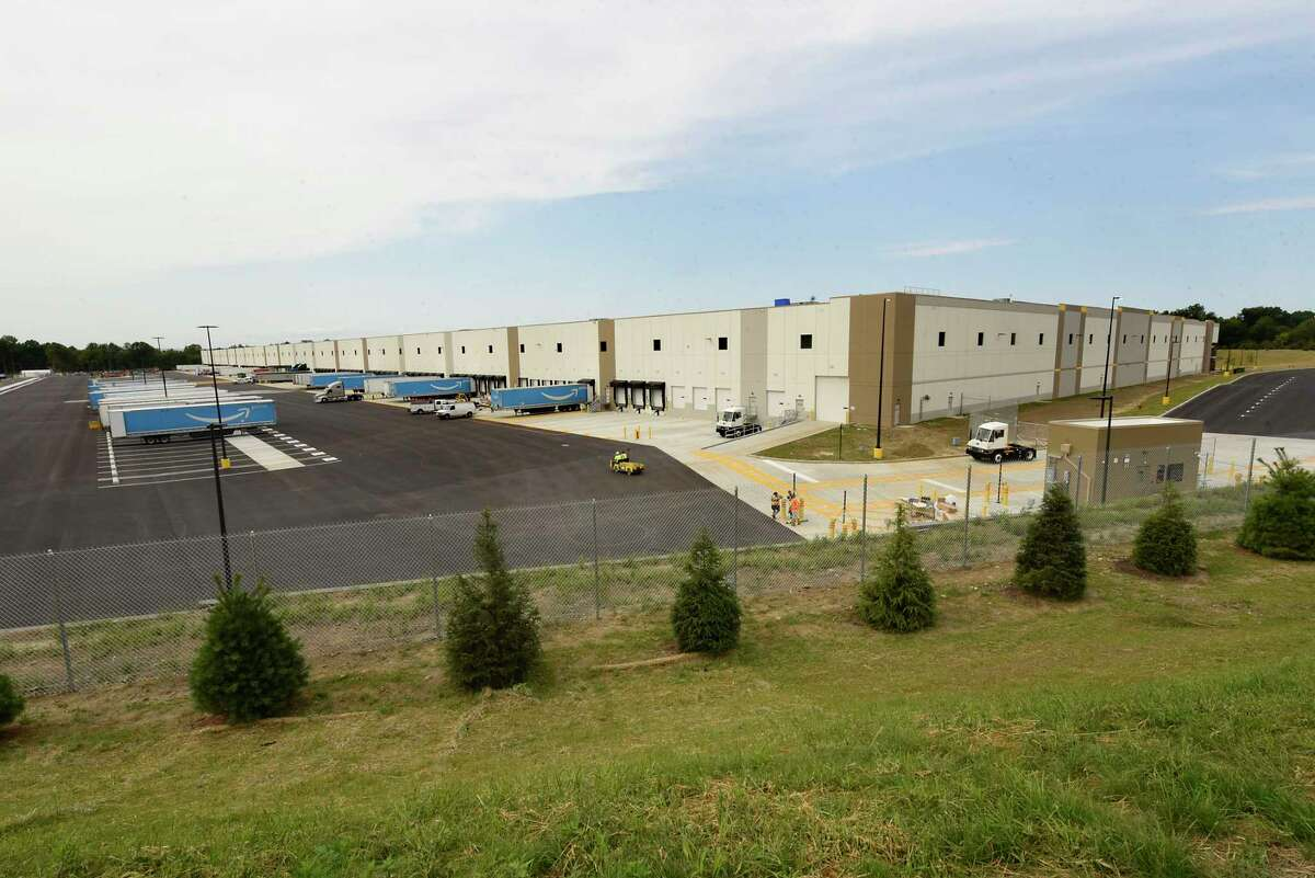 The Amazon warehouse is now open on Wednesday, Sept. 9, 2020 in Castleton-on-Hudson, N.Y. The new distribution center located in Schodack is the first in upstate New York. (Lori Van Buren/Times Union)