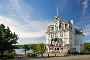 The Goodspeed Opera House in East Haddam.
