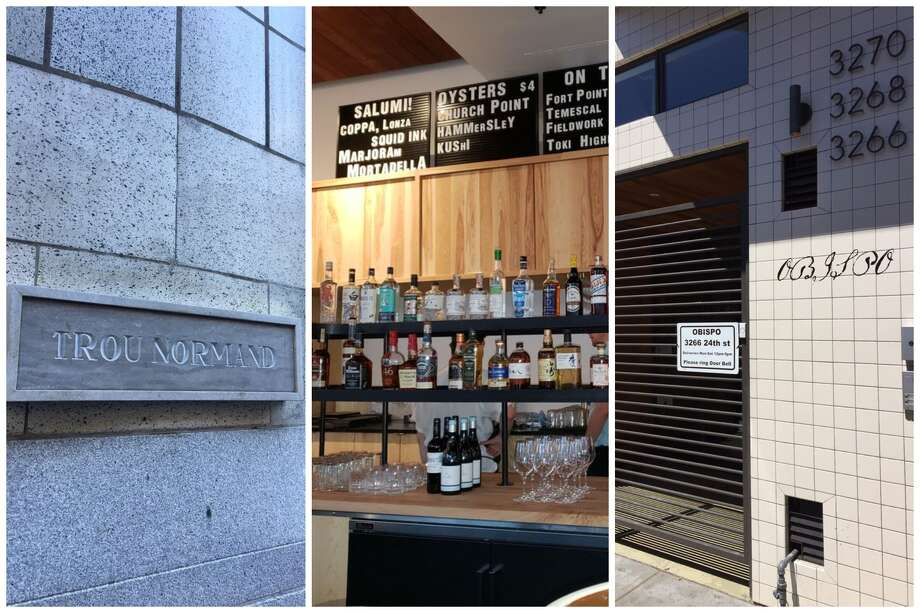 Restaurateur and star bartender Thad Vogler has permanently shuttered three of his San Francisco based restaurants that include Trou Normand, Nommo, and Obispo. Photo: From (l) To (r): Manda Bear B., Jennifer G, And Andrew D. On Yelp
