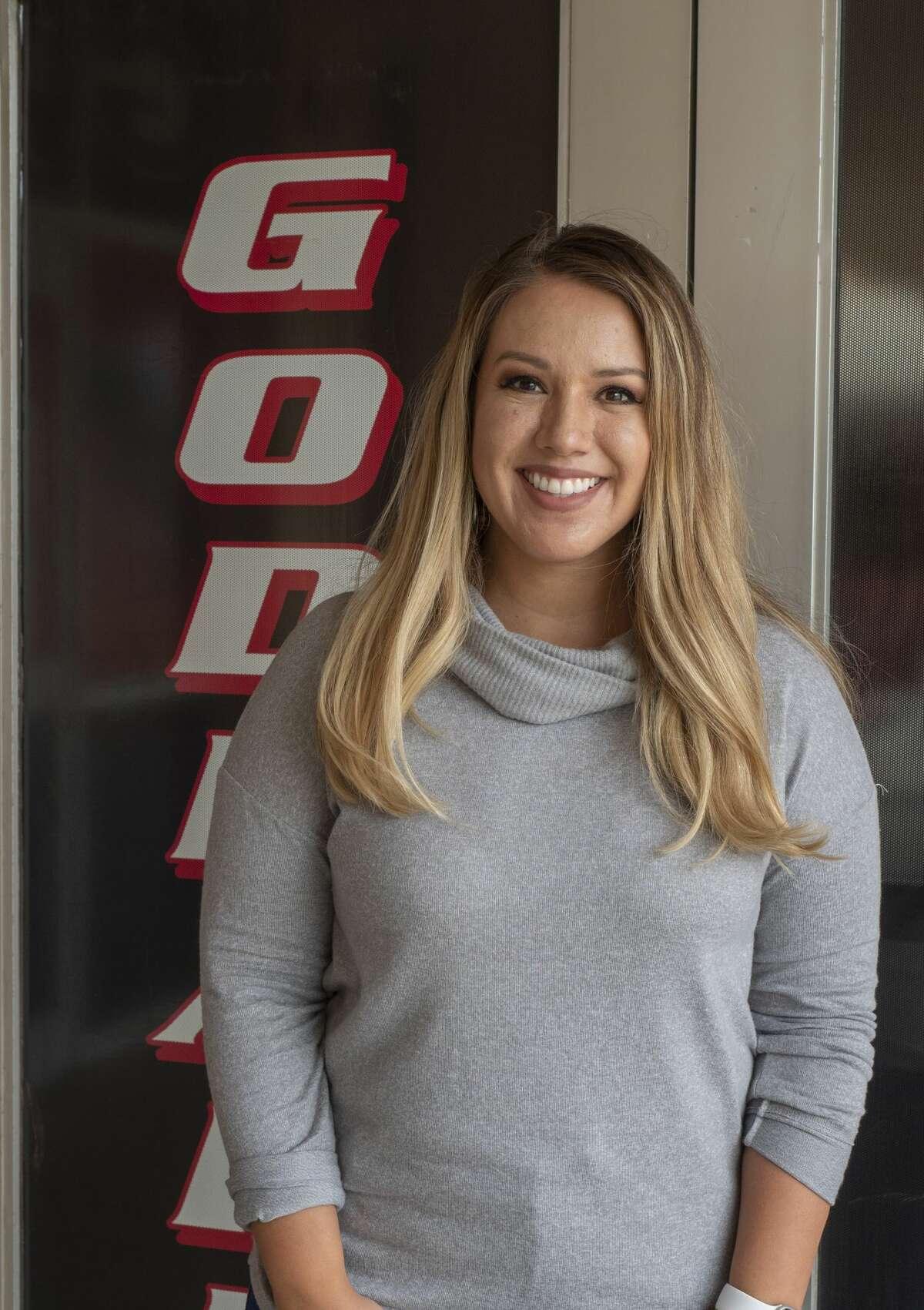 Erica Juarez, Social Studies teacher at Goddard Junior High. 09/09/2020 Tim Fischer/Reporter-Telegram