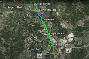 I-10 from FM 3351 to La Cantera Pkwy: