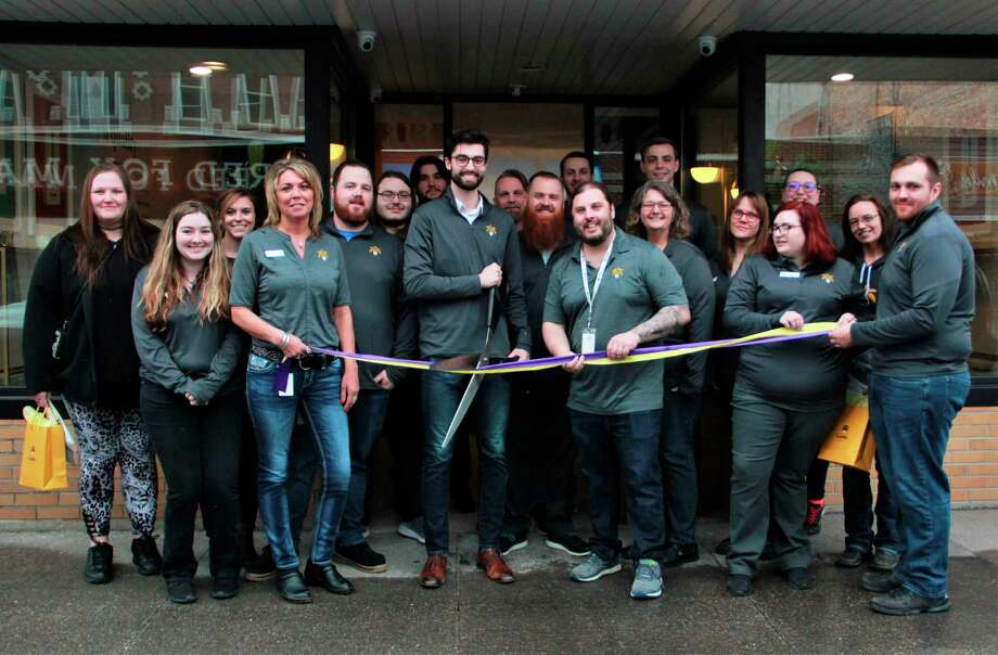 According to Community Development Director Paula Priebe, there are currently about 15 applications of marijuana businesses interested in coming to Big Rapids. Of the 15 applications, she said 13 of them are looking to occupy vacant buildings. Featured is the ribbon cutting from when Lume Cannabis Co. came to S. Michigan Avenue. (Pioneer file photo)