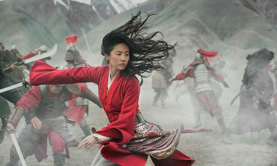 "Yifei Liu as the title character in ""Mulan."" Photo: Jasin Boland / Walt Disney Studios Motion Pictures / Walt Disney Studios Motion Pictures"
