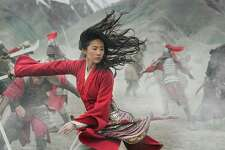 "Yifei Liu as the title character in ""Mulan."""