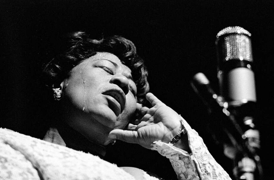 Despite her success, Ella Fitzgerald, photographed by Herman Leonard, is one of the many women in jazz who faced numerous obstacles throughout her career. Photo: Eagle Rock / / © Herman Leonard Photography, LLC