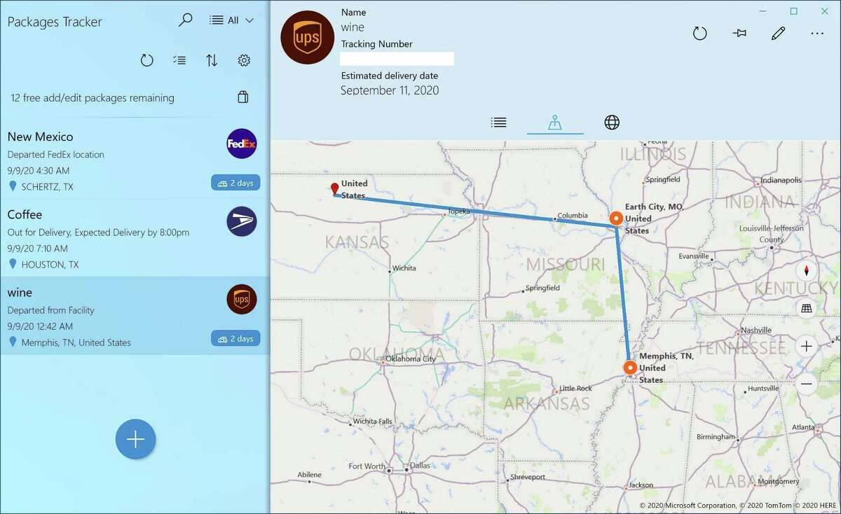 Packages Tracker for Windows and Android lets you track all your incoming or outgoing packages in one convenient app.