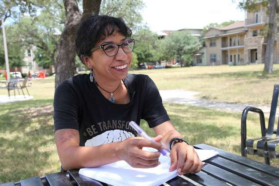 """Johana Hernadez, a San Antonio kindergarten teacher and resident of public housing in San Antonio, has self-published a new children's book, """"I Am a Gift and I Have Many Gifts."""" Photo: Courtesy / Courtesy"""