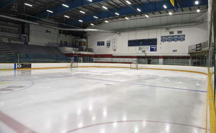A view of the Danbury Ice Arena. Photo: H John Voorhees III / Hearst Connecticut Media / The News-Times