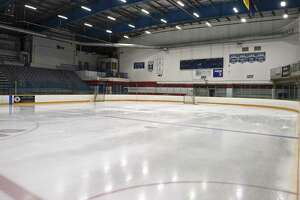 A view of the Danbury Ice Arena.