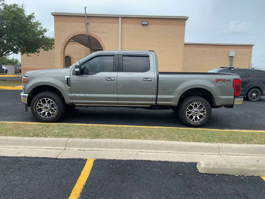 Texas Department of Public Safety troopers recovered this 2020 Ford F-150 following a traffic stop along Interstate 35. Authorities said the vehicle was reported stolen. One person was arrested in relation to the case. Photo: Courtesy Photo /Texas Department Of Public Safety