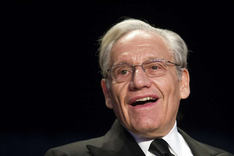 In this April 29, 2017, file photo journalist Bob Woodward sits at the head table during the White House Correspondents' Dinner in Washington. Woodward, facing widespread criticism for only now revealing President Donald Trump's early concerns about the severity of the coronavirus, told The Associated Press that he needed time to be sure that Trump's private comments from February were accurate. Photo: Cliff Owen, Associated Press