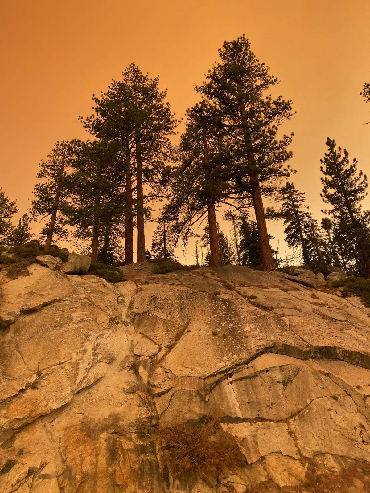 Air quality reached dangerously levels in Yosemite on Wednesday, Sept. 9.