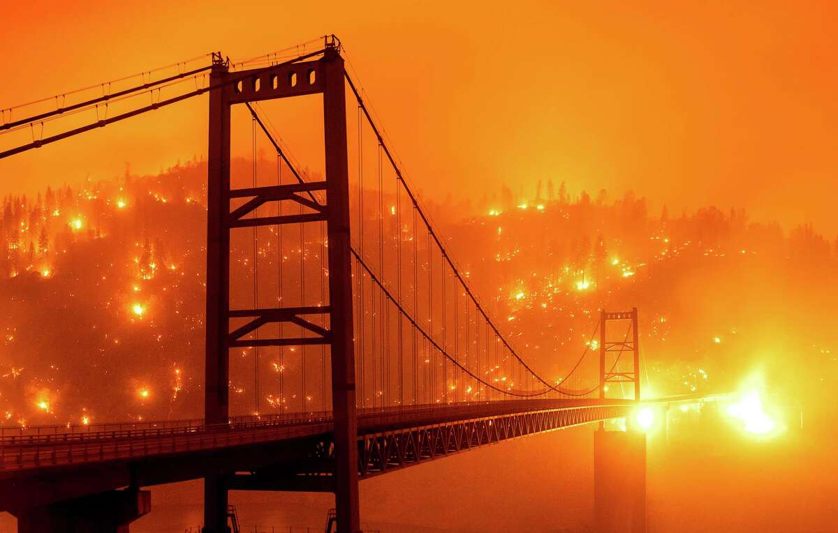 Rivers, lakes, mountains and forests on fire were thought to be symbols to be decoded by ancient readers of the Book of Revelation. Now, with climate change amd pollution, they can seem more like prophecies of wildfires and flammable toxic dumps.