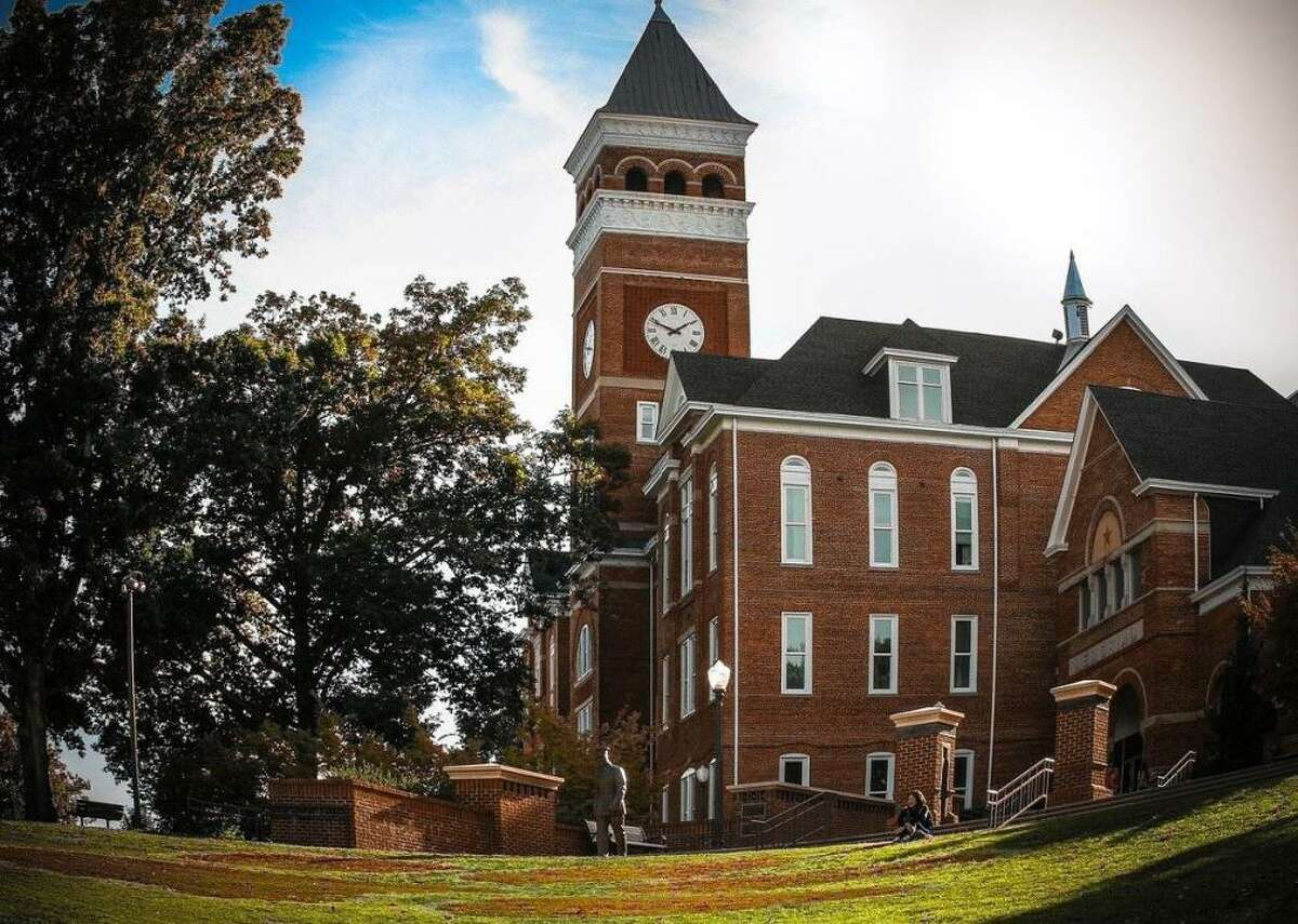 #99. Clemson University - Location: Clemson, SC - Undergraduate enrollment: 18,971 - Student to faculty ratio: 16:1 - Acceptance rate: 47% - Graduation rate: 83% - Six year median earnings: $52,400 - Two year employment rate: 94% Clemson has seen a surge in popularity thanks to two college football national titles since 2016. The school also boasts a renowned center for automotive research and collaborations with tech giants like Siemens.