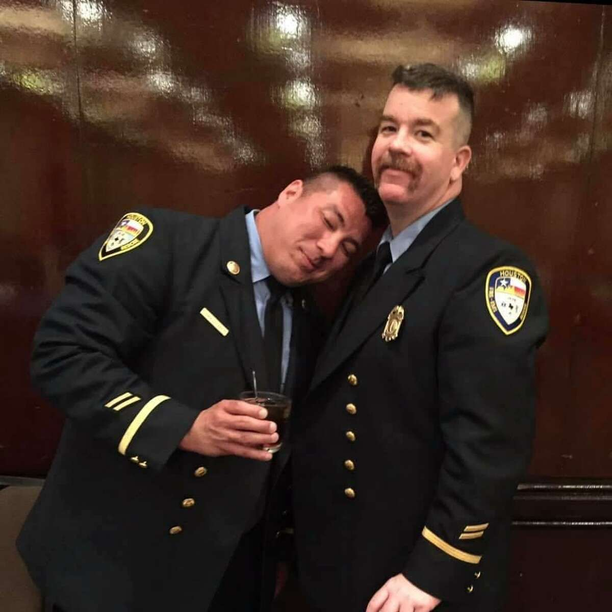 Houston Fire Department Capt. Tommy Searcy, 45, died Sept. 8 after a roughly month-long battle with COVID-19. The third Houston firefighter to die from the virus, Searcy's colleagues remembered him for his calm leadership style and friendly demeanor in the station.